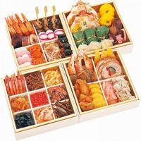 海鮮おせち 北海華籠膳(ほっかい はなかごぜん) 四段重