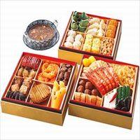 [中国料理謝朋殿]中華おせち三段重(フカヒレスープ付)のおせち